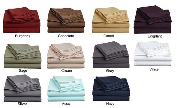 High Quality *Extra Long Twin Bed Linens   Because Of How Our Linens Are Desiged, With  Elastic That Goes All Of The Way Around The Bottom Of The Fitted Sheet, ...